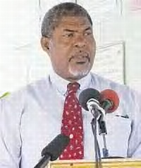 Hon Montgomery Daniel, Minister of Agriculture, Forestery and Fisheries